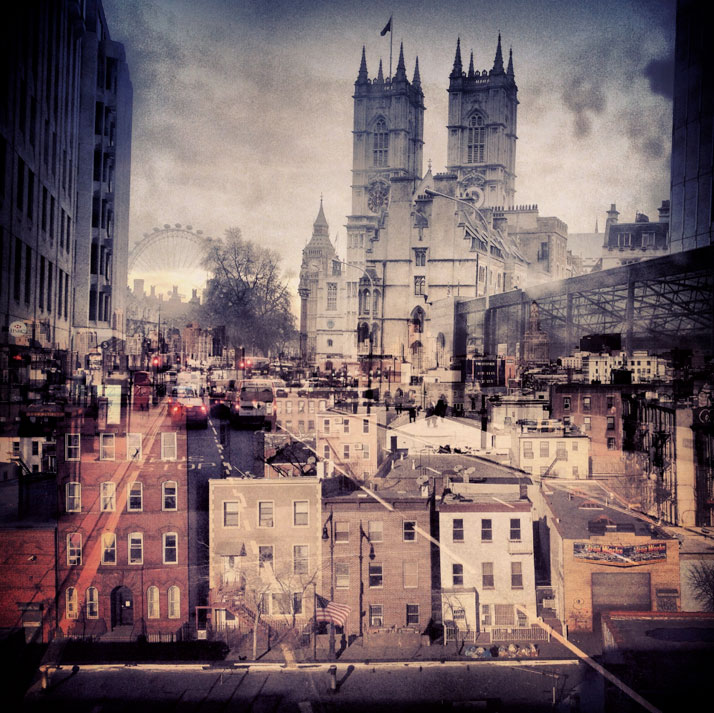 New York + London: A Collection Of Double Exposures By Daniella Zalcman 15