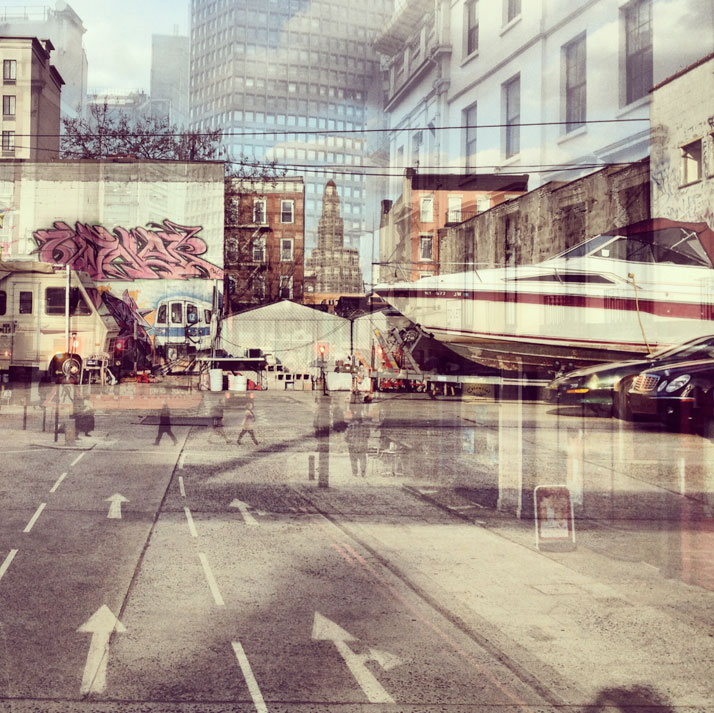 New York + London: A Collection Of Double Exposures By Daniella Zalcman 16