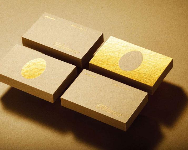 GOLDENHEN Business Cards. Photo © James Newman.