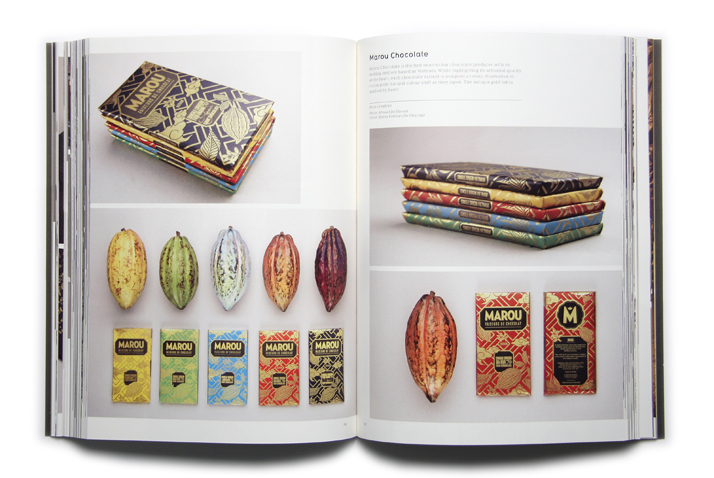 Marou Chocolate by Rice creative. Photo: Arnaud De Harven. Client: Marou Faiseurs De Chocolat.Picture of the project featured inside the GOLD & SILVER book © Viction:ary.