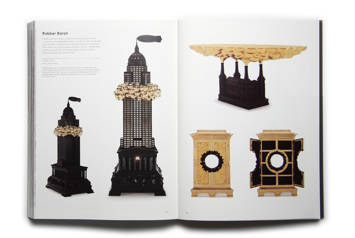 Robber Baron by Studio Job.Picture of the project featured inside the GOLD & SILVER book © Viction:ary.