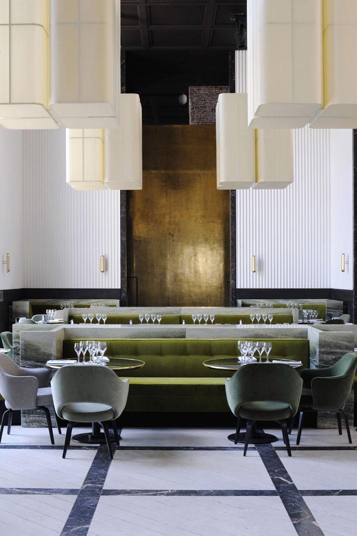 1000 images about commercial interiors restaurant on for Articles cuisine paris