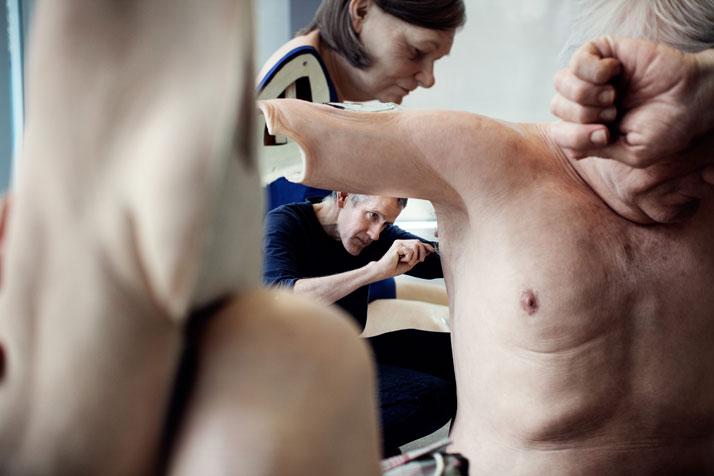 photo © Thomas Salva / Lumento pour la Fondation Cartier pour l'art contemporain, 2013.
