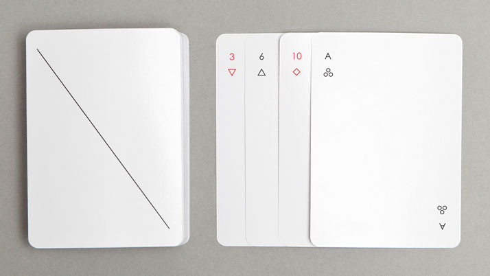 Iota playing cards by Joe Doucet. Photo © Joe Doucet.