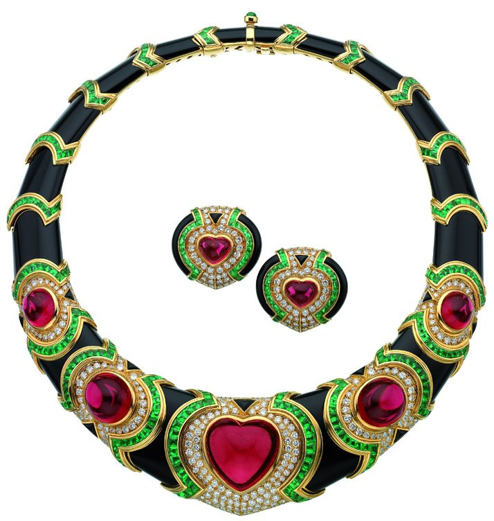 1980's necklace from the Bulgari Vintage Jewellery Collection.