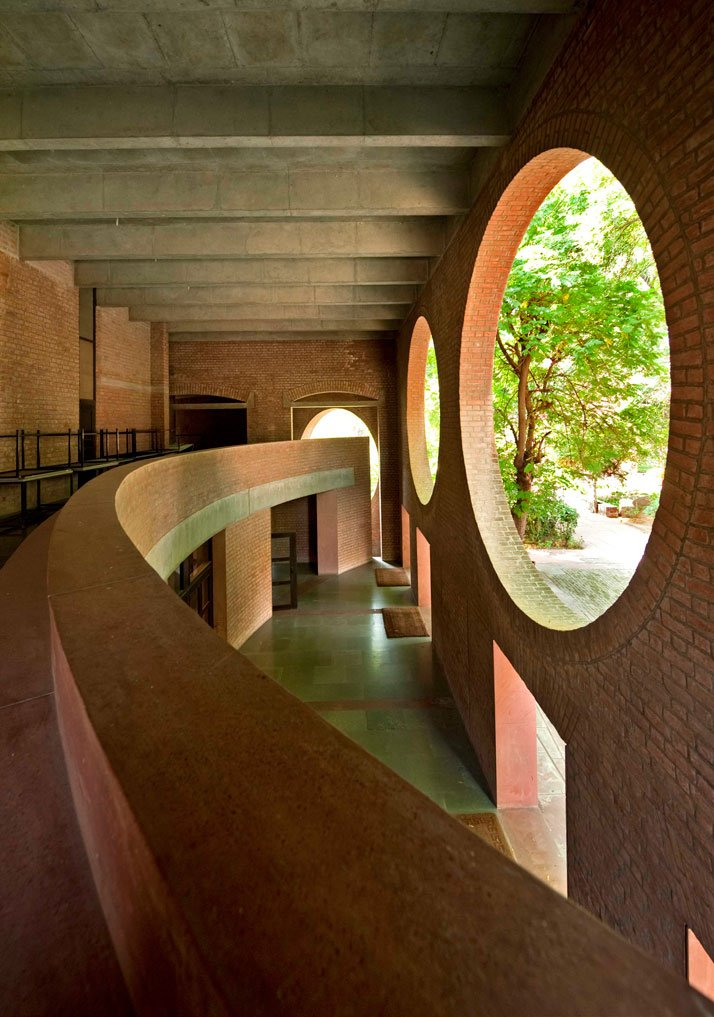 39 39 even a brick wants to be something 39 39 louis kahn yatzer for Creative interior designer ahmedabad