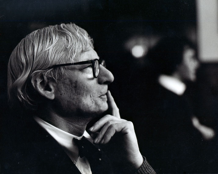 Louis Kahn, c. 1972© Robert C. Lautman Photography Collection, National Building Museum.