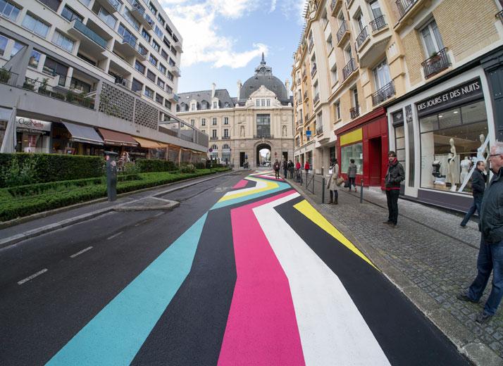 Road Marking Paint Colors