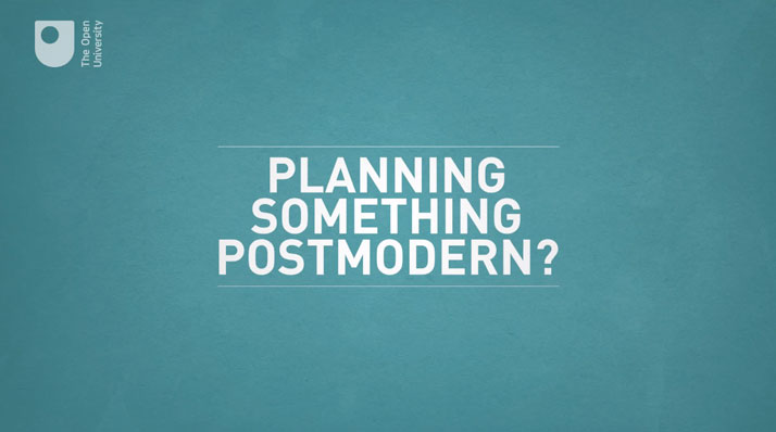 Postmodernism: Design in a Nutshell (6/6)