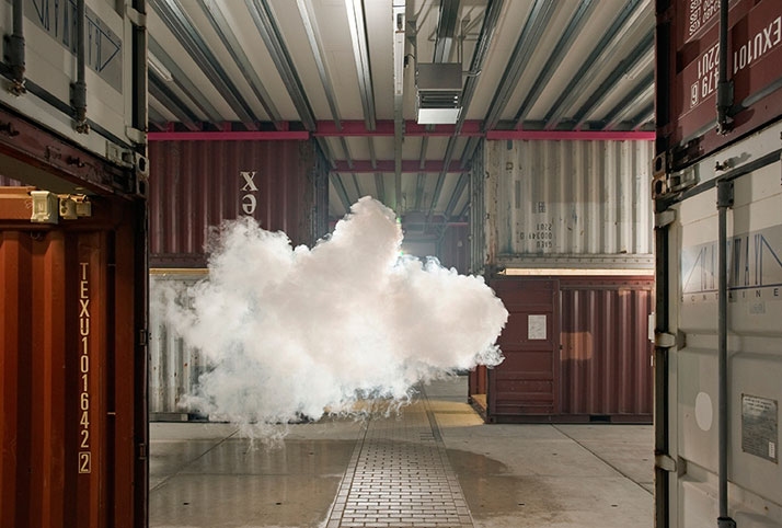 Nimbus NP3 by Berndnaut Smilde, Photo: Cassander Eeftinck Schattenkerk
