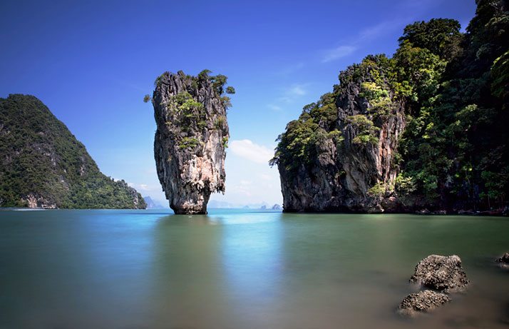 James Bond Island, Khao Phing Kan, Thailand.photo © Sonia Blanco.