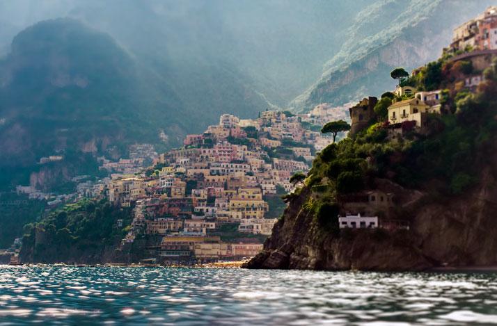 Positano, Amalfi Coast, Campania, Italy.photo ©Cristina Strazzoso.