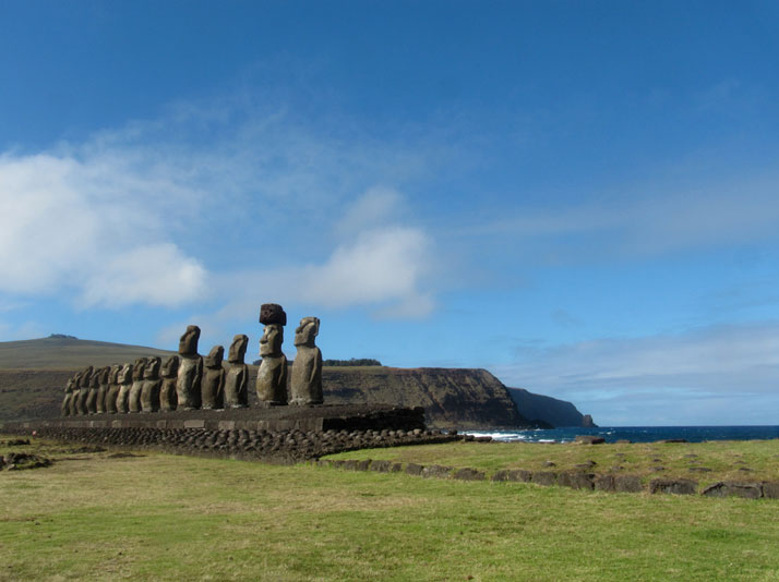 Easter Island, Chile.photo © Mark Zabala.