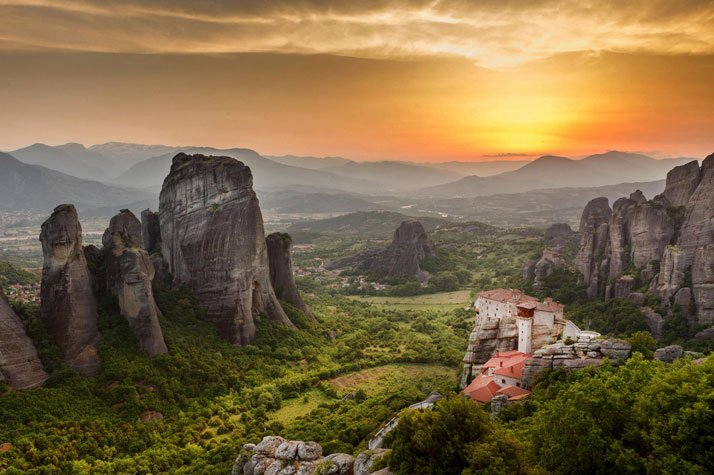 Meteora, Greece.photo © Andrei Pop.