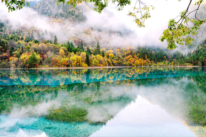 Jiuzhaigou Valley, China.photo © Allan Oman.