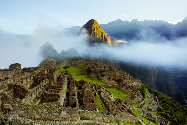 Machu Picchu, Peru.photo © Vincent McMillen.