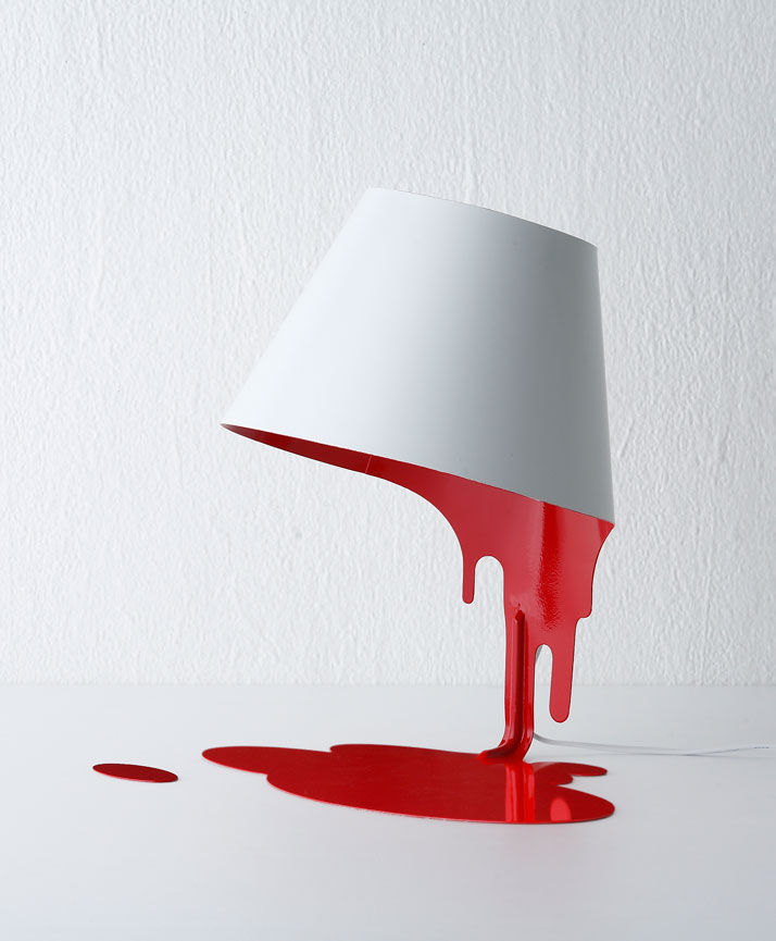 Liquid lamp by Kouichi Okamoto.(2008)photo ©Kyouei Design.