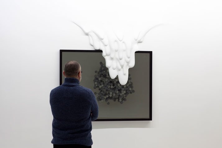 The three dimension sculptures of Daniel Arsham. (2006+)Mirror Error, 2012, photo © Daniel Arsham.