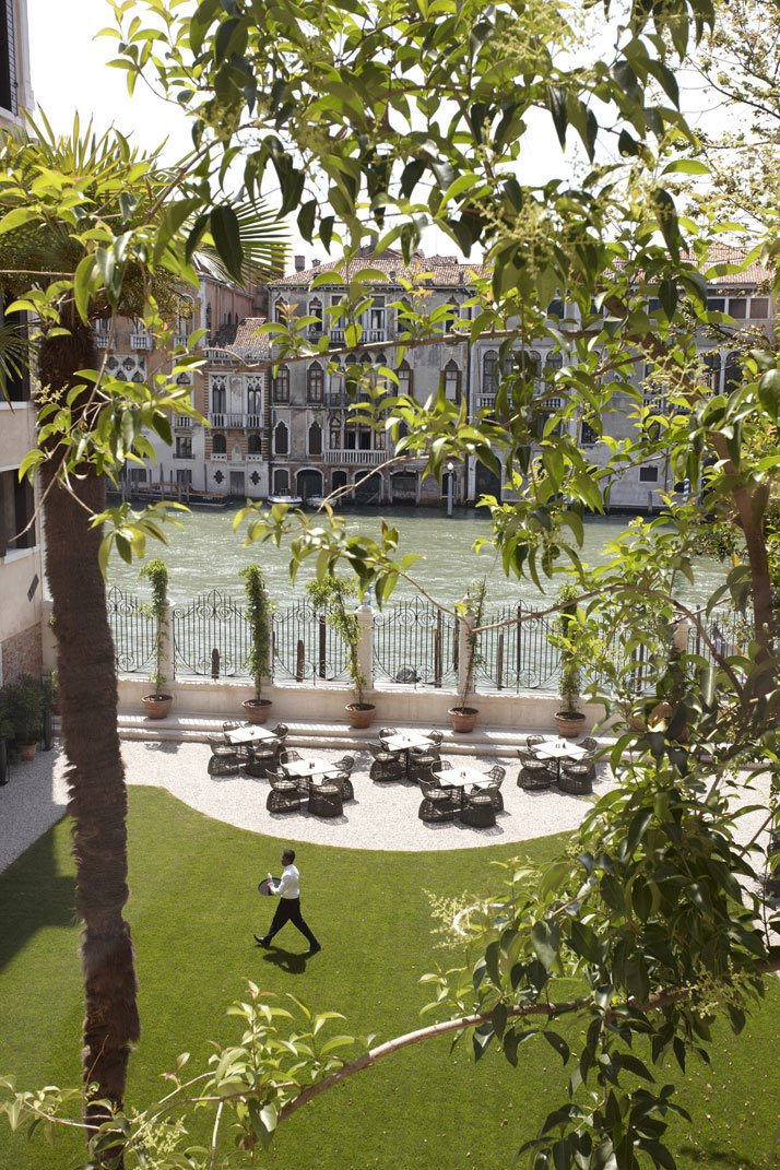 Exterior view of the Aman Canal Grande Hotel, photo © Aman Canal Grande Hotel, Venice, Amanresorts.