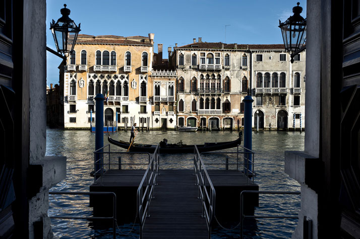 Private Pier, photo © Aman Canal Grande Hotel, Venice, Amanresorts.