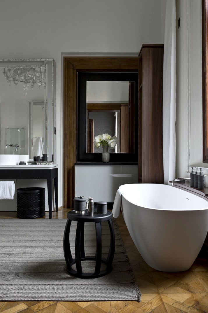 Maddalena Stanza Suite, photo © Aman Canal Grande Hotel, Venice, Amanresorts.