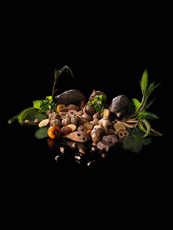 The vegetarian tasting menu. D.O.M.: Rediscovering Brazilian Ingredients. Alex Atala. Photo © PHAIDON.