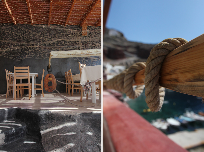 Amoudi fish tavern, Santorini, photo © Costas Voyatzis for Yatzer.com.