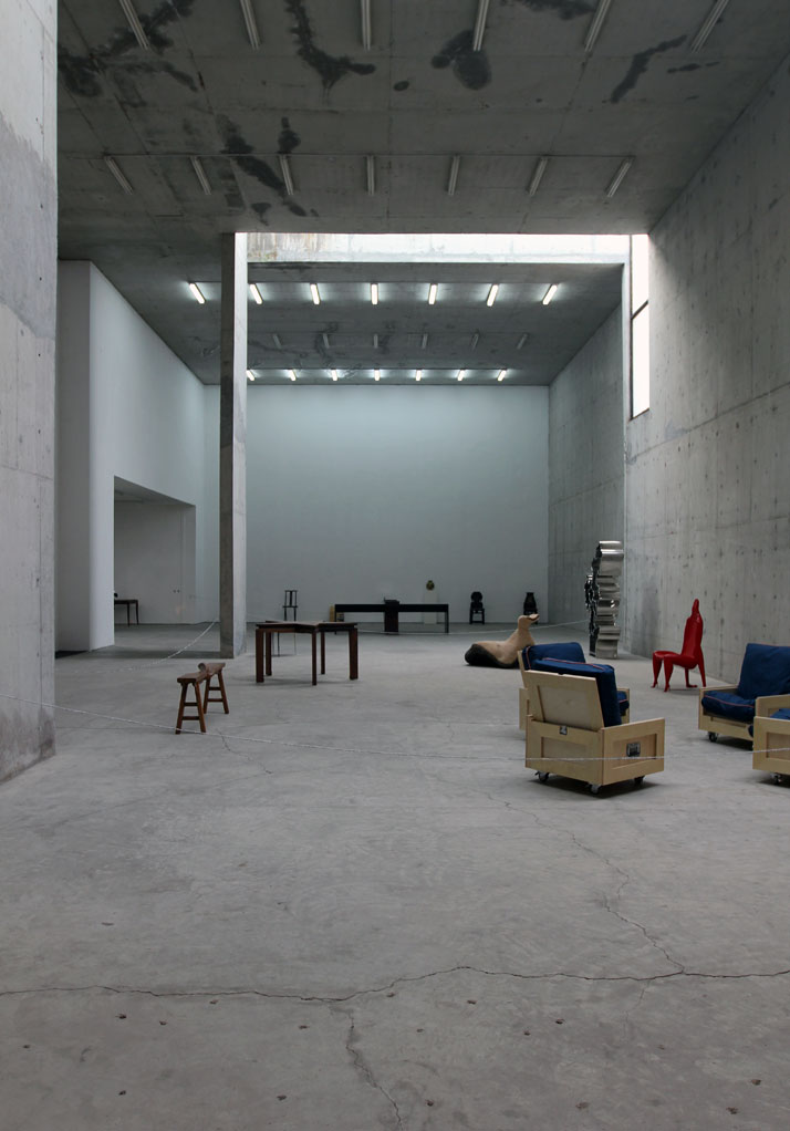 ''ABSOLUTE DESIGN by Chinese'' exhibition at Xin Dong Cheng Space for Contemporary Art (798 old Factory). Photo © Costas Voyatzis.Works by Bu Di, Chen