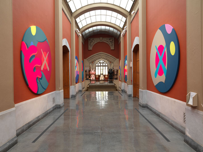KAWS @PAFA, installation view, 2013. Image courtesy of PAFA.