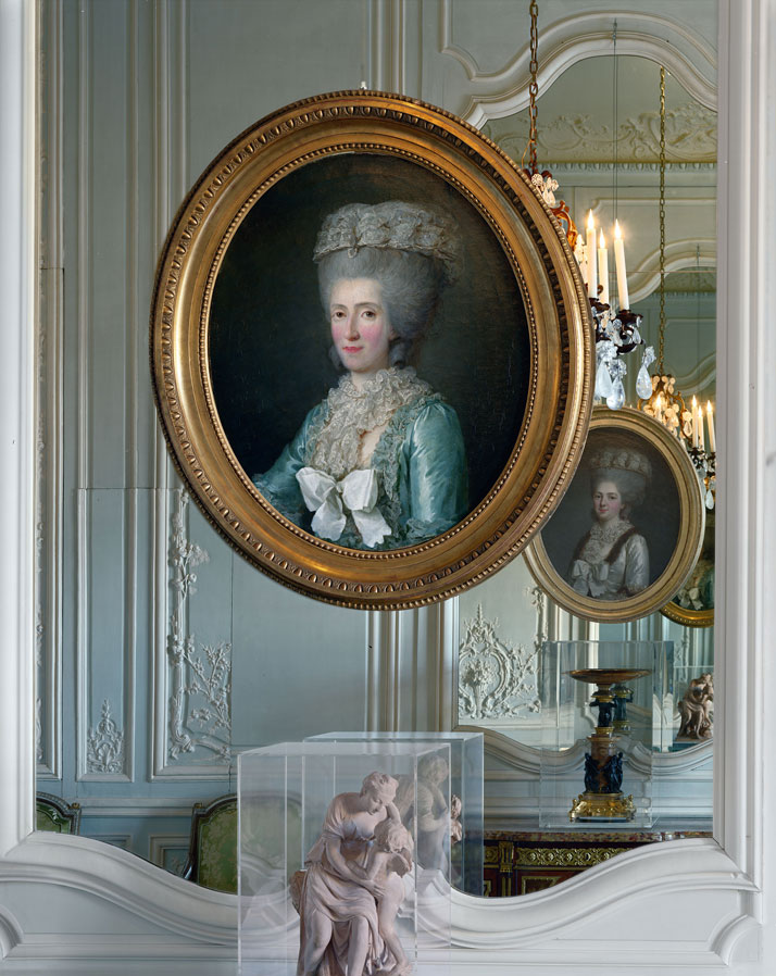 ROBERT POLIDORI''Cabinet intérieur de Madame Victoire, Corps Central, Versailles''72'' by 60'' (183 cm by 152 cm)C-print2007Copyright: ROBERT POLIDORI.Courtesy: Mary Boone Gallery and Edwynn Houk Gallery, New York.
