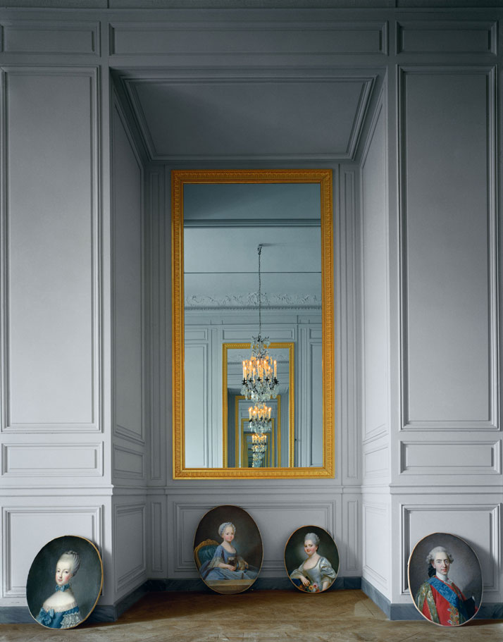 "ROBERT POLIDORI''Cabinet intérieur de Madame Adelaide, Corps Central Versailles"" (8/10)60'' by 50'' (152 cm by 127 cm)C-print1986/2013Copyright: ROBERT POLIDORI.Courtesy: Mary Boone Gallery and Edwynn Houk Gallery, New York."