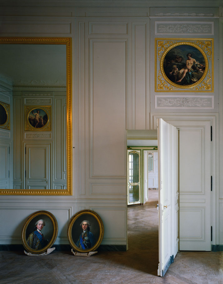 ROBERT POLIDORI''Cabinet intérieur de Madame Adélaïde, Versailles''60'' by 50'' (152 cm by 127 cm)C-print1986Copyright: ROBERT POLIDORI.Courtesy: Mary Boone Gallery and Edwynn Houk Gallery, New York.