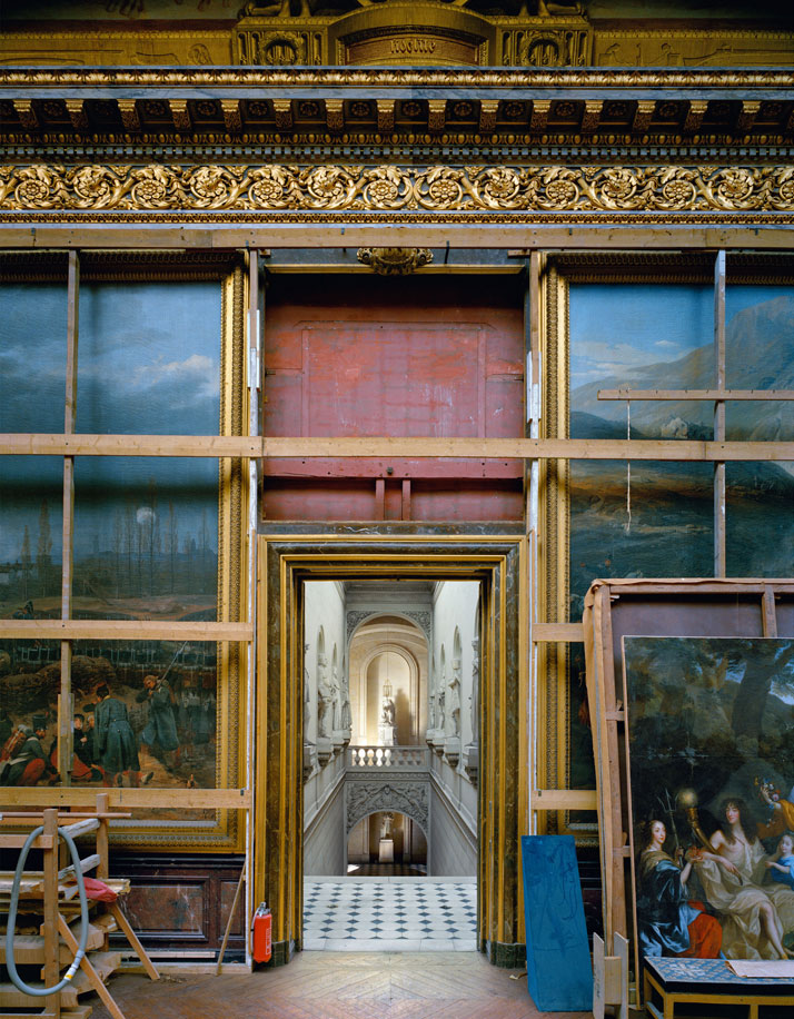 ROBERT POLIDORI''Salle de Constantine, Salles de l'Afrique, Versailles''60'' by 50'' (152 cm by 127 cm)C-print1985Copyright: ROBERT POLIDORI.Courtesy: Mary Boone Gallery and Edwynn Houk Gallery, New York.