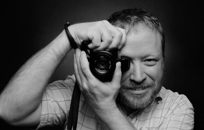 James Duncan Davidson, photo © David Hobby, 2013.