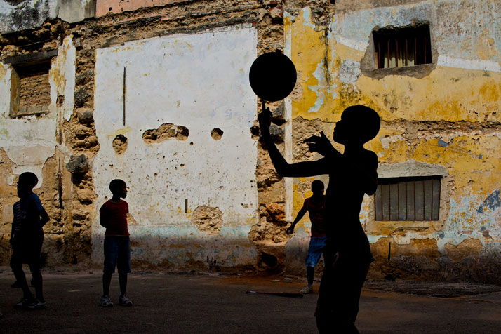 Boys playing in an abandoned lot in Havana, Cuba, April 2013.photo © James Duncan Davidson.