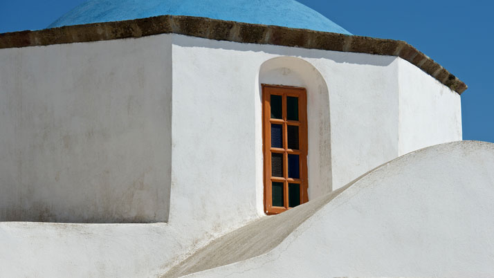 St. Nicholas Church in Santorini, Greece, August 2012.photo © James Duncan Davidson.