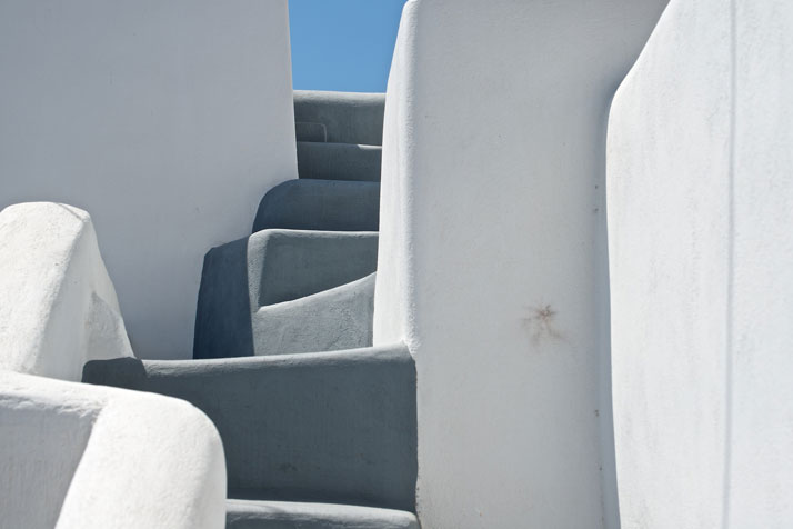 Stairs in Santorini, Greece, August 2012.photo © James Duncan Davidson.