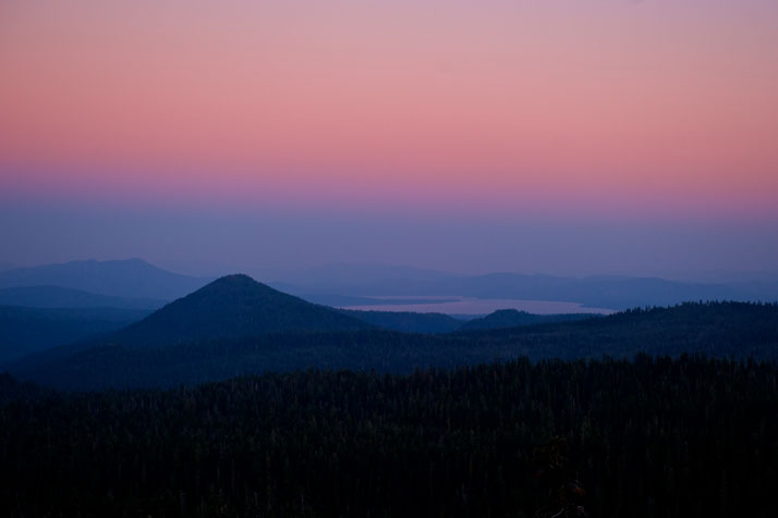 Alpenglow in Northern California, September 2011.photo © James Duncan Davidson.