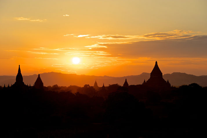 Sunrise over Bagan, Myanmar, January 2012.photo © James Duncan Davidson.