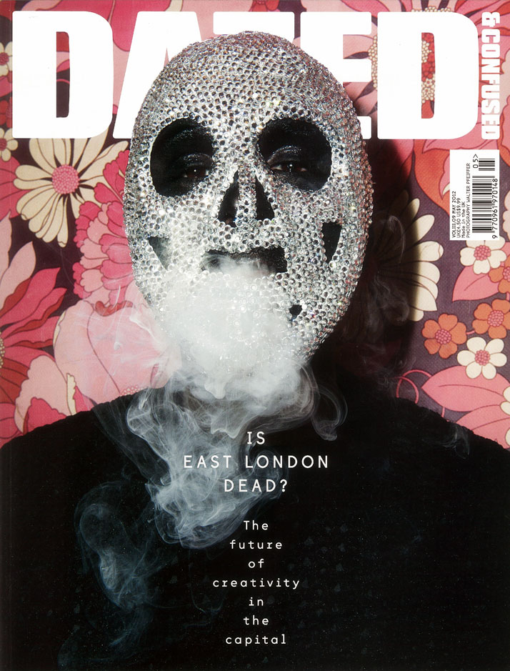 Theo-Mass covers Dazed & Confused magazine / May 2012 issue / Photography: Walter Pfeiffer / Styling: Robbie Spencer.