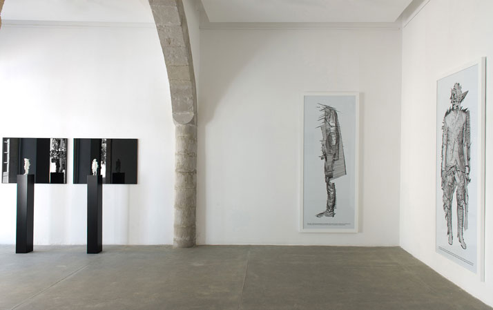 Installation view from the #postdigitalism exhibition / Morfi Gallery, Limassol, Cyprus.