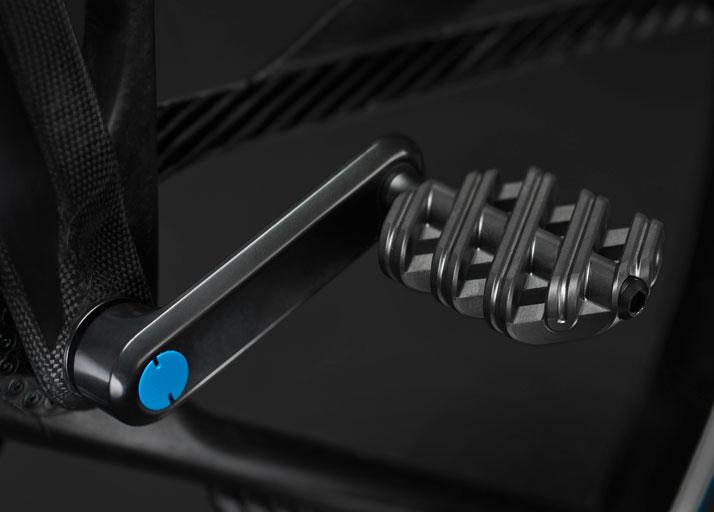 Crank pedal, Concept 1865, photo © Rafael Kroetz.