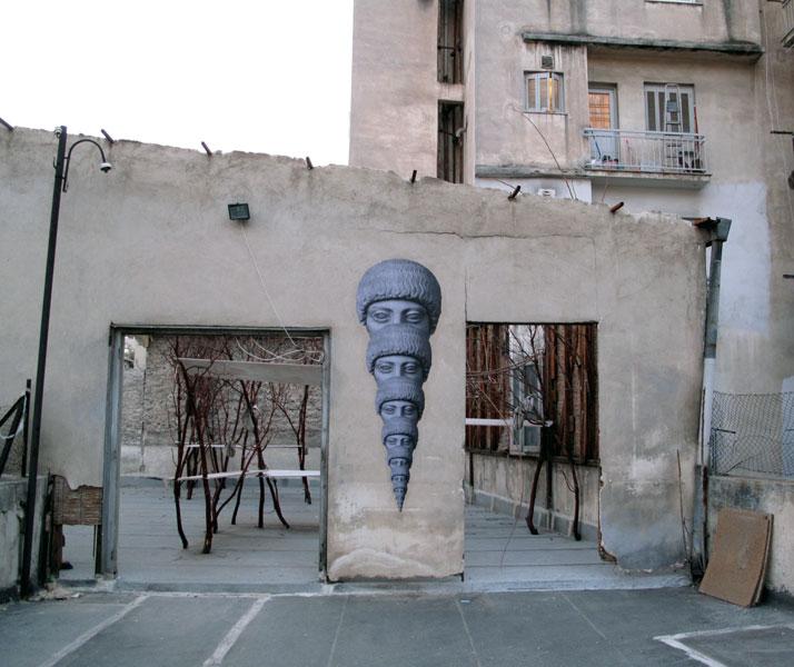 HOPEMountain, 2010installation view at Kunsthalle Athena.Courtesy The Breeder, Athens / Monaco.