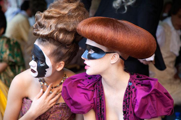 (making of) photo by Pricsillia Saada, Courtesy of Louis Vuitton.