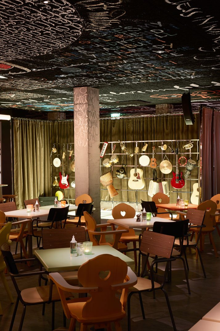 the new mama shelter hotel by philippe starck in bordeaux france yatzer. Black Bedroom Furniture Sets. Home Design Ideas