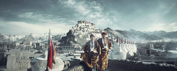 The LADAKHI tribe, INDIA, February 2012.photo © Jimmy Nelson.