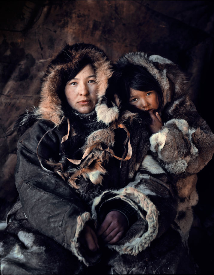 The CHUKCHI tribe, SIBERIA - CHUKOTKA, February 2012.photo © Jimmy Nelson.