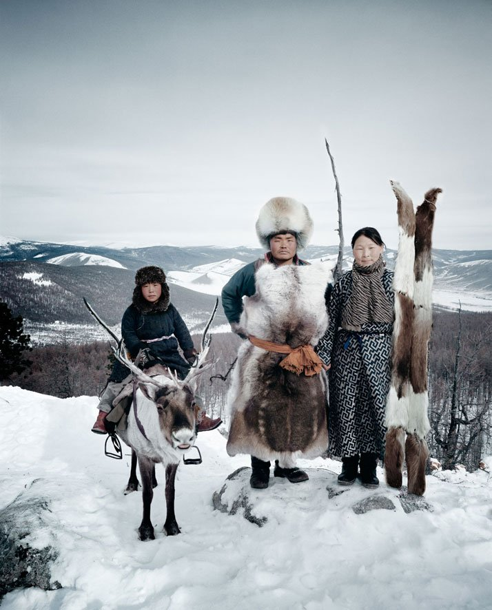 The TSAATAN tribe, MONGOLIA, February 2011.photo © Jimmy Nelson.
