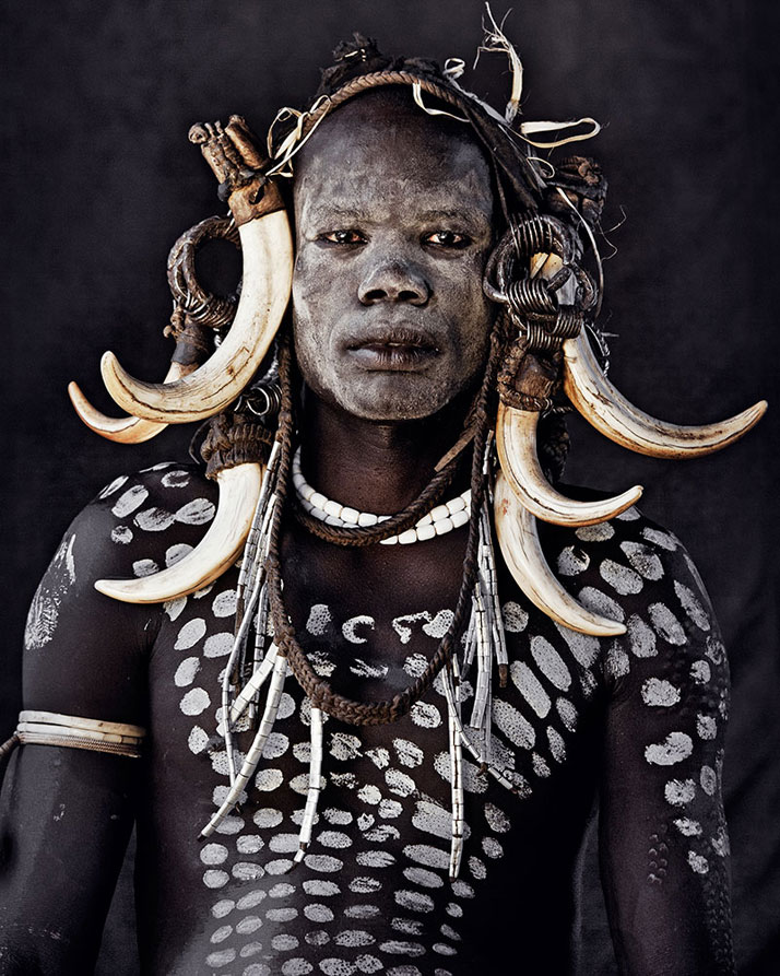 The MURSI tribe, ETHIOPIA, June 2011.photo © Jimmy Nelson.
