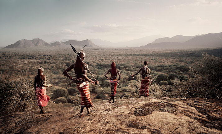 The SAMBURU tribe, KENYA + TANZANIA, December 2010.photo © Jimmy Nelson.